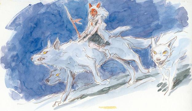 Studio-Ghibli-Concept-Art-Princess-Mononoke