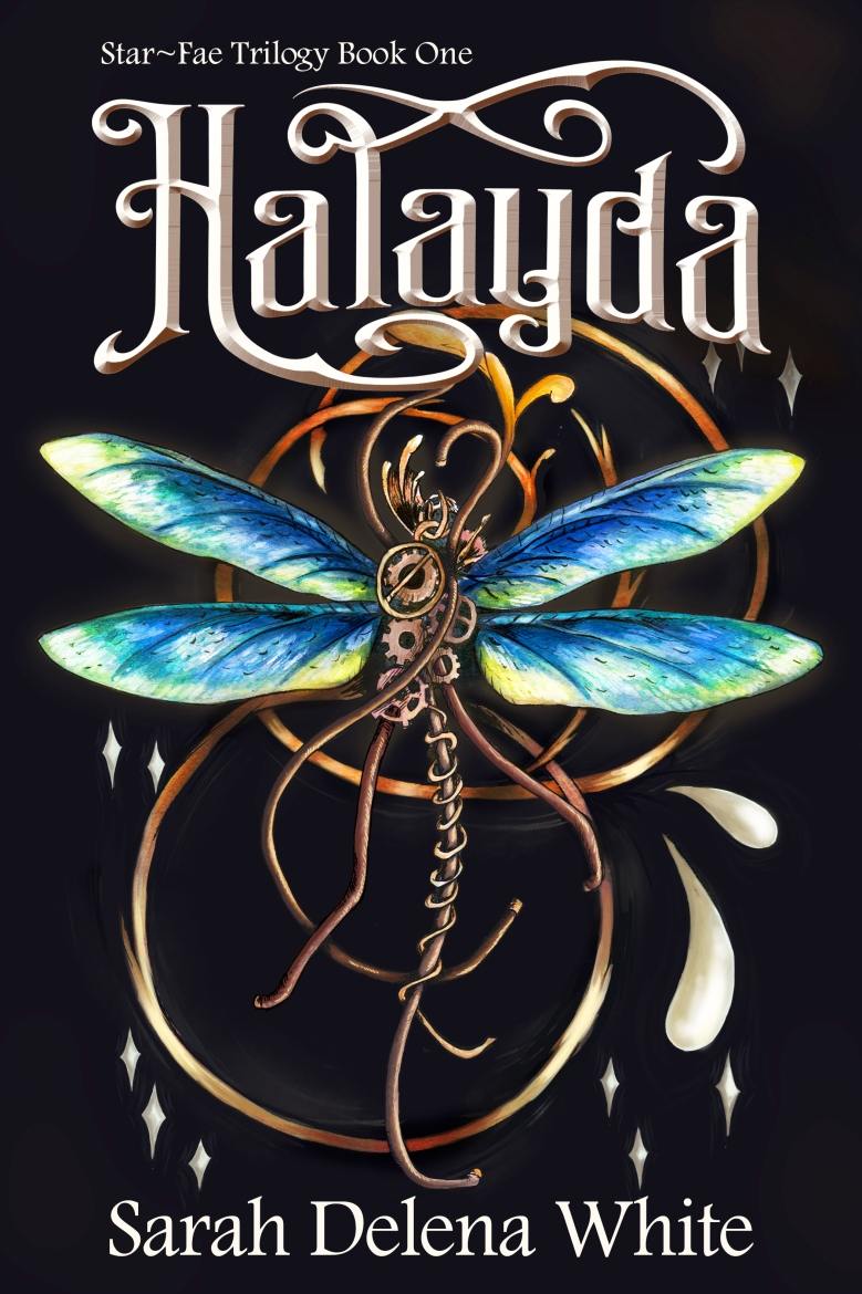 Halayda: Star-Fae Trilogy Book One Cover