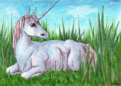 UnicornInTheGrass