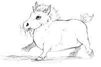 Pudgy Baby Unicorn