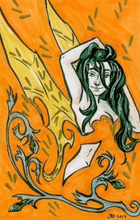 Orange Faerie