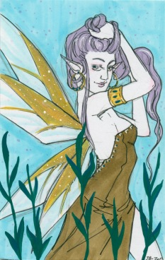 The Olive Dress Faerie